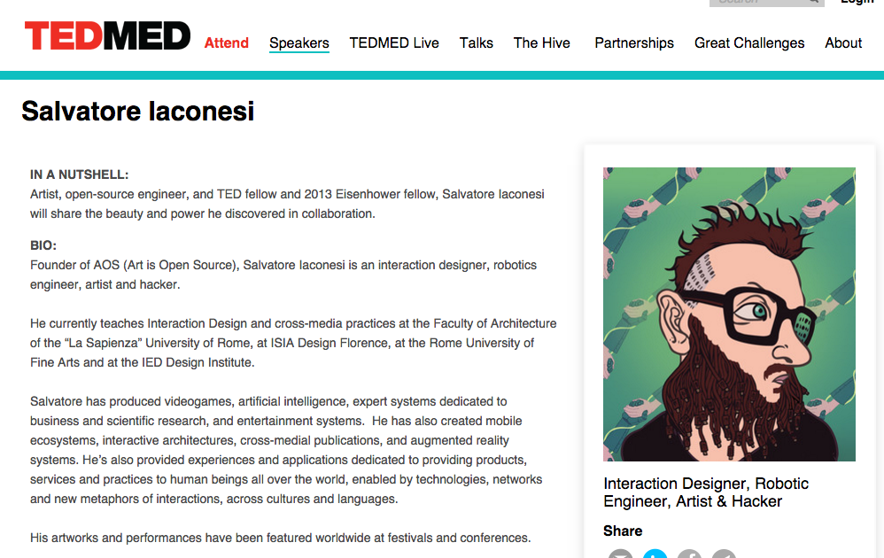 La Cura on TEDMED